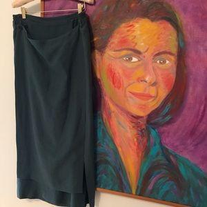 ESKANDAR linen skirt